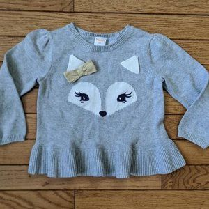 Gymboree Fox Sweater